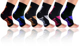6-Pairs: Plantar Fasciitis Compression Foot Sleeves