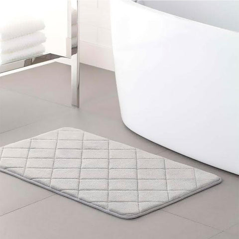 3-Pack : Memory Foam Plush Bath Mat