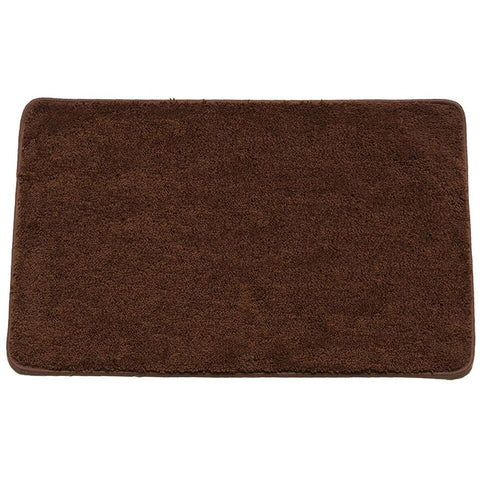 Hailey Collection Rectangle Plush Decorative Bathroom Rug