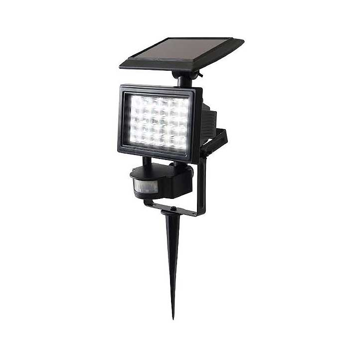 Rechargeable Solar Powered Motion-Activated Flood Lights