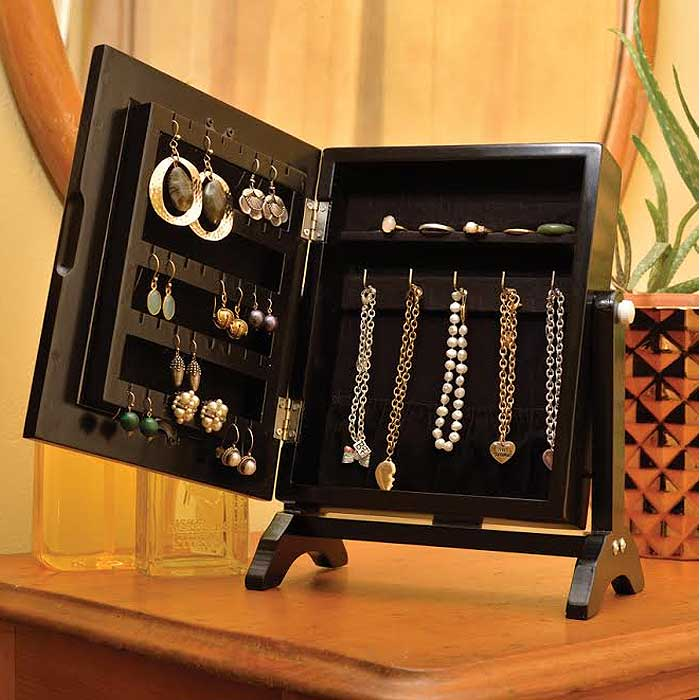 Rotating Jewellery Cabinet