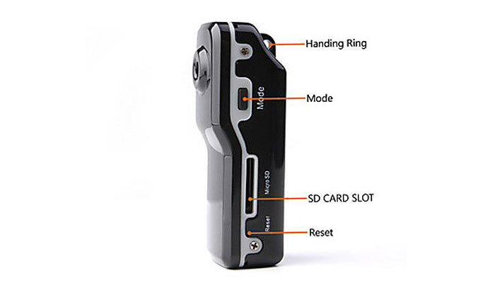 Spy Camera with 8GB SD Card and Adapter