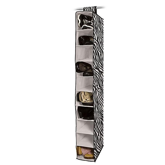 Ultimate 10-Shelf Hanging Closet Organizer