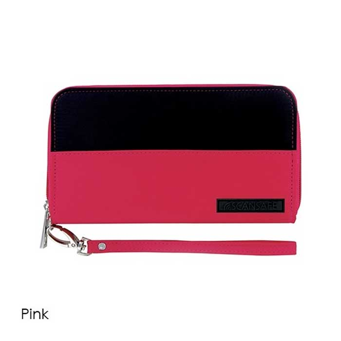 3 Styles : Scansafe RFID Protected Wristlet Wallet