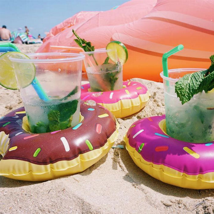 Inflatable Pool Party Drink Floats (3-Pack)