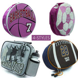 Sports-Themed Kids' Insulated Lunchbox