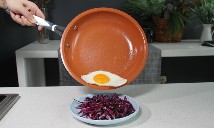 shopify-Red Copper Non-Stick Frying Pan-1