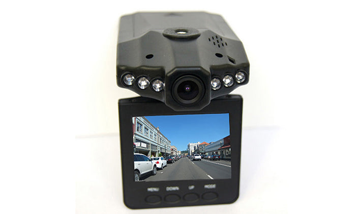 "Dash Cam DVR System with 2.5"" Screen - 1080p"