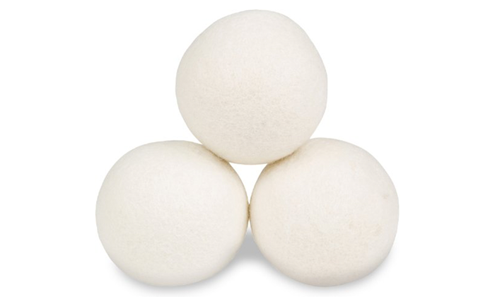 Reusable New Zealand Wool Dryer Balls (3 or 6 Pack)