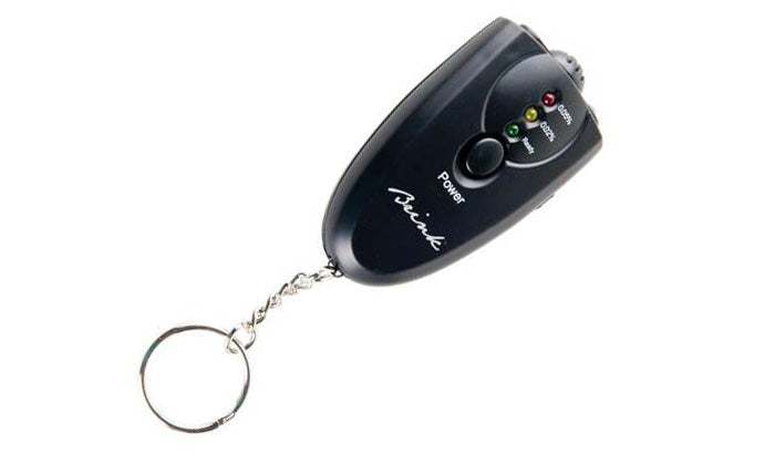 Alcohol Breathalyzer with Keychain