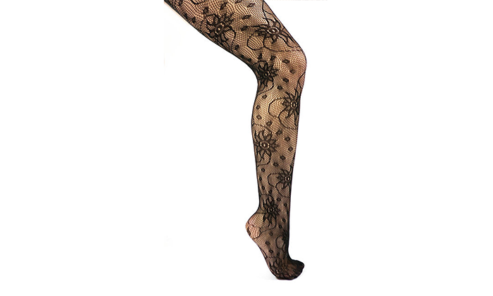 6 Pairs Sexy Fishnet Style Textured Fashion Tights