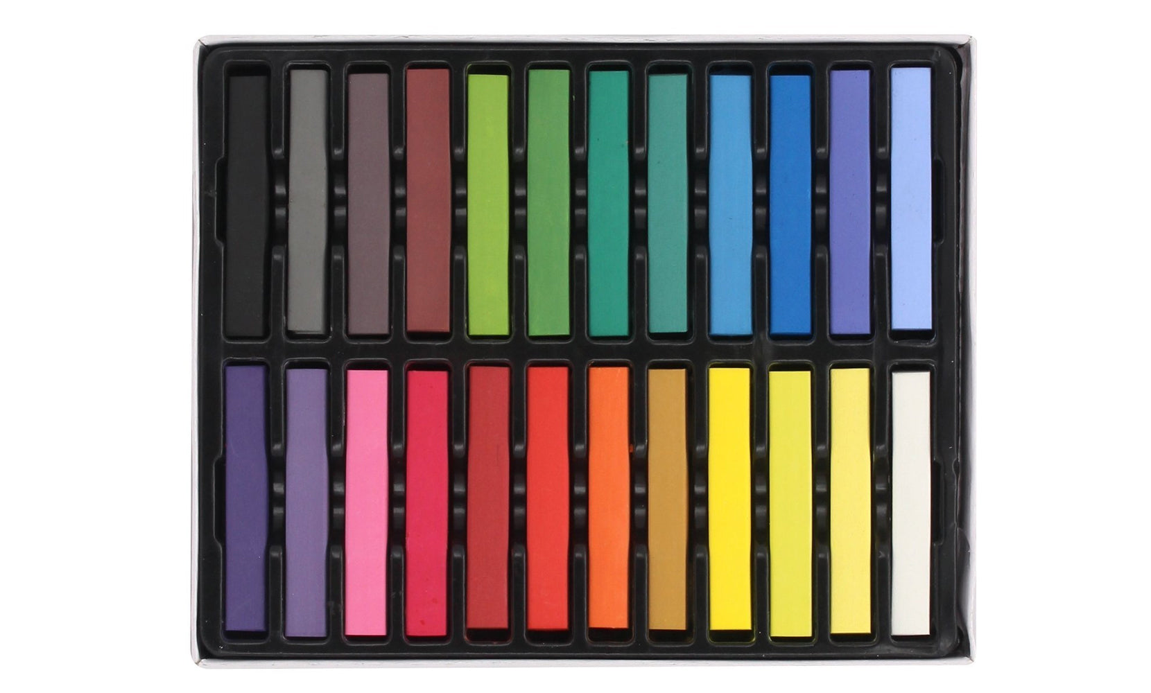 Hair Chalk with 24 Assorted Colors