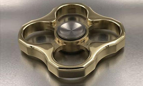 Knuckle Gold  Spinner