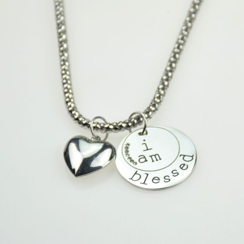 "NECKLACE ""I Am Blessed"""