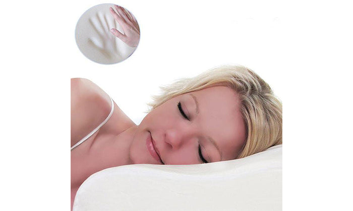 2-Pack Memory Foam Contour Support Pillow
