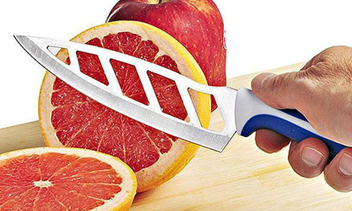 Infinity Vented Blades Kitchen Knife