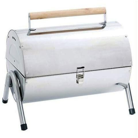 Maxam Stainless Steel BBQ Grill