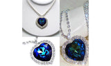 Swarovski Elements 'Heart of the Ocean' Titanic Necklace