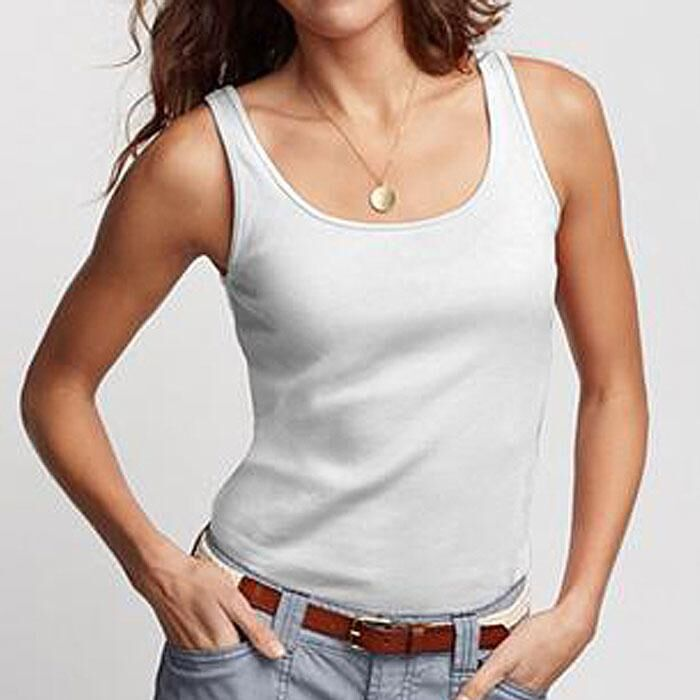 100% Cotton Ladies Tank Top