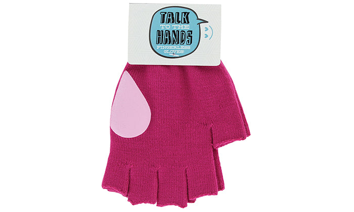 8-Pack: Talk to the Hands Fingerless Gloves