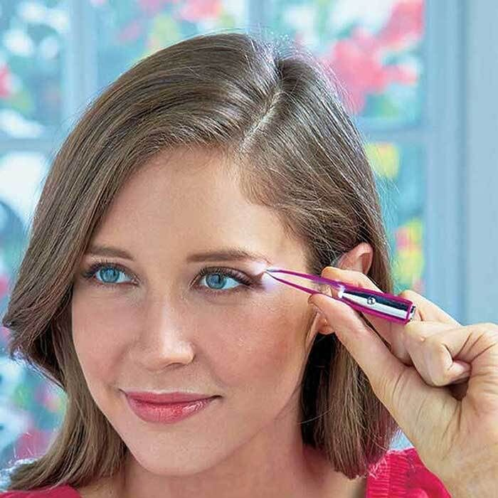 Spot on Illuminating Tweezers