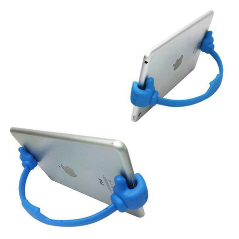 Flexible Thumbs-Up Tablet and Phone Stand