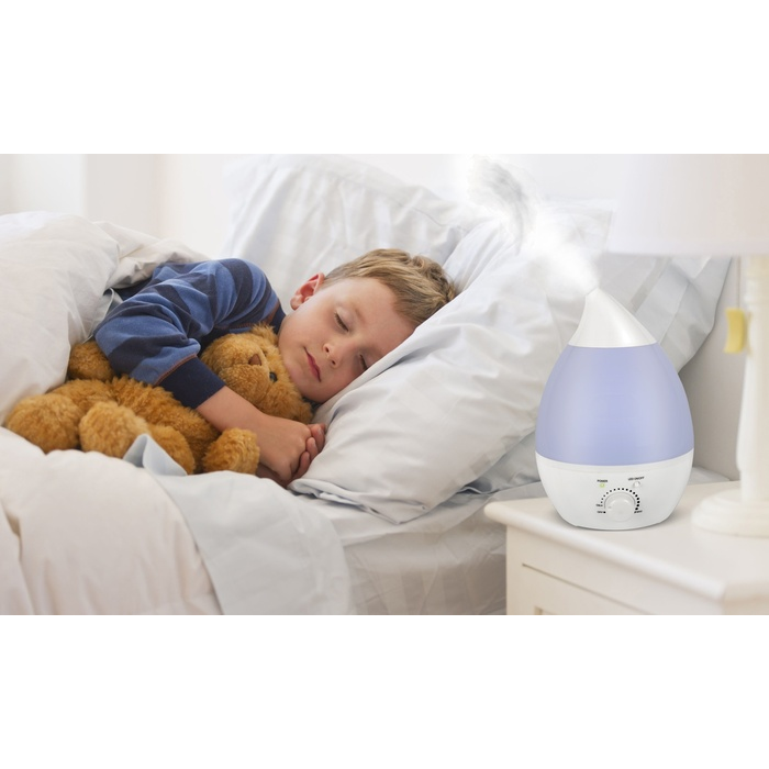 Ultrasonic LED Air Humidifier and Diffuser with Color-Changing Light