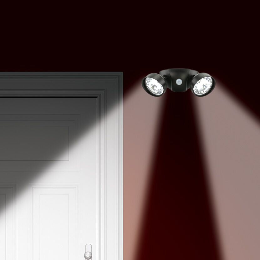 Motion-Activated Cordless Dual Security LED Lights