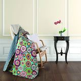 Virah Bella Collection Quilted Throw