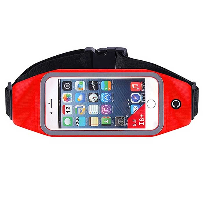 Waterproof Cellphone Running Waist Belt with Pouch