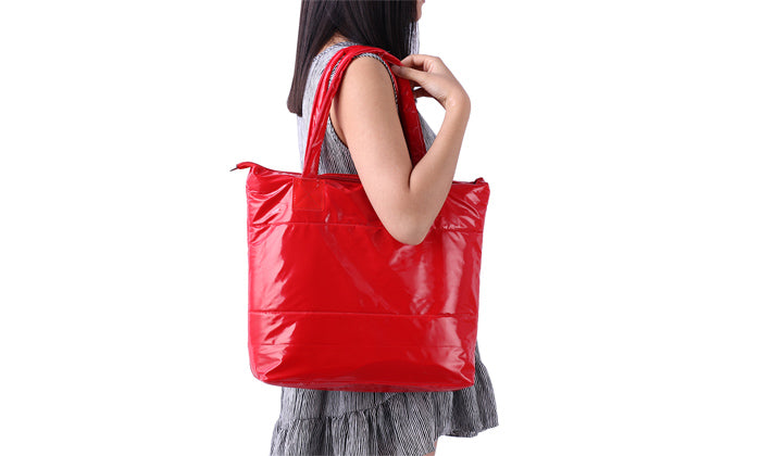 Patricia Padded Zip Closure Tote