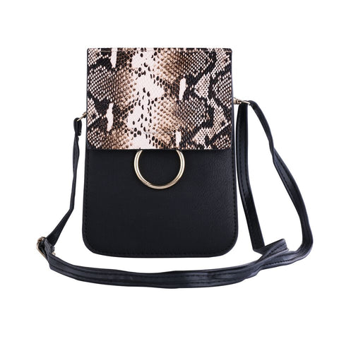 PU Leather Cross-Body Smartphone Bag