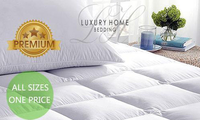 Super-Soft Hypoallergenic Mattress Topper
