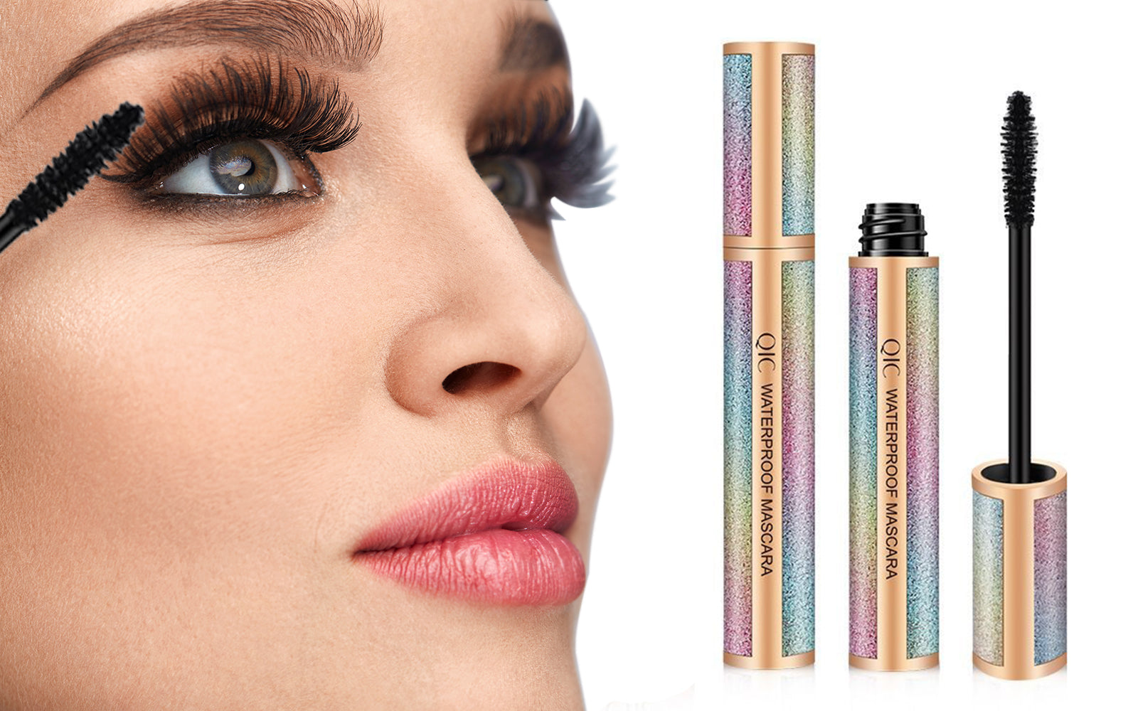 4D Silk Fiber Lash Mascara for Longer Thicker Voluminous Eyelashes (1 or 2-Pack)