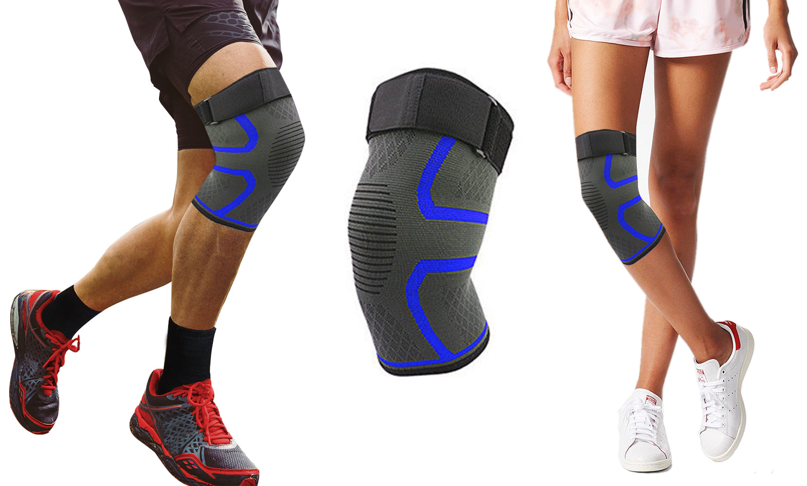 2.0 Knee Compression Extra Support Sleeve with Gel Grip