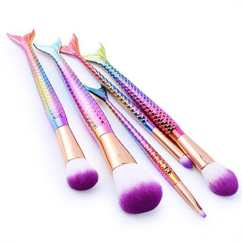 5-Piece Set: Pretty & Perfect Makeup Brushes