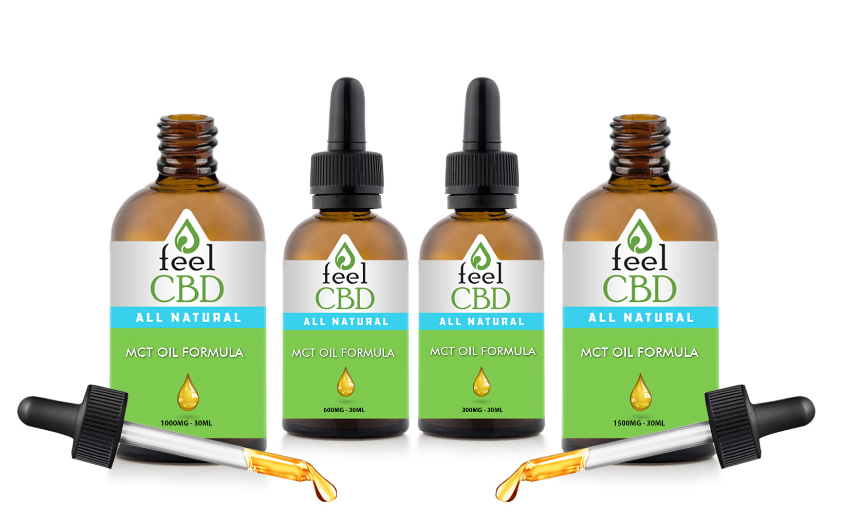 CBD with MCT Oil Tincture from myCBD (30mg, 600mg, 1000mg or 1500mg)