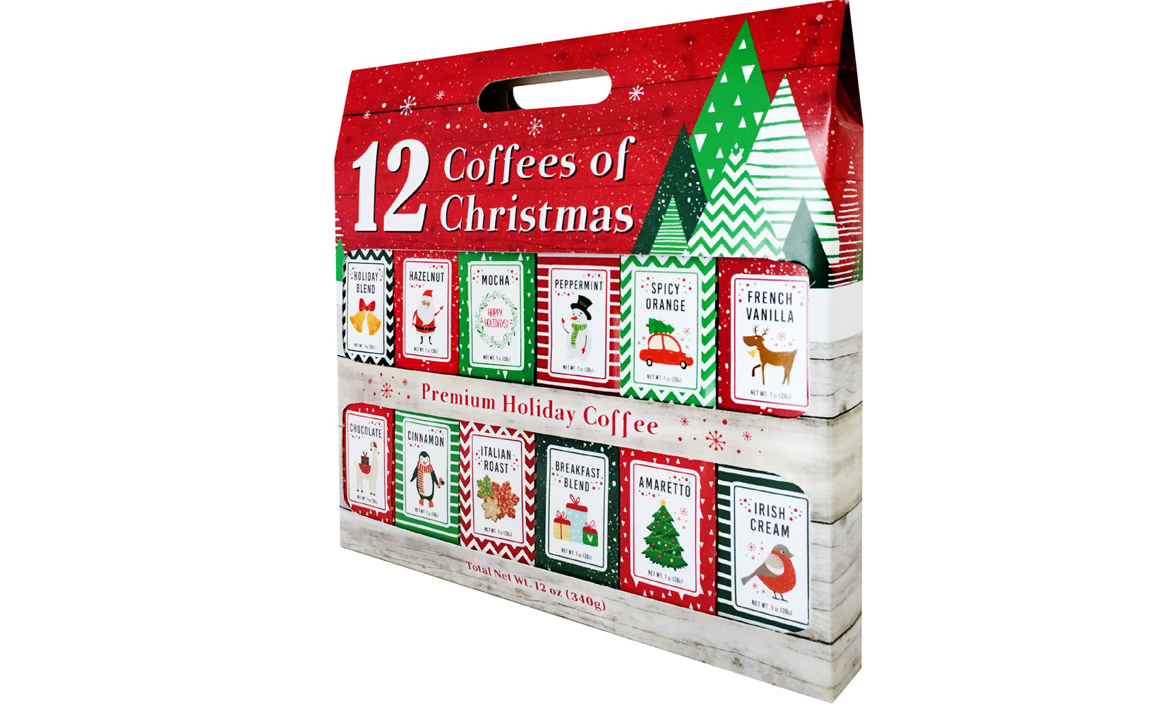 12-Pack: Assorted Coffees of Christmas Holiday