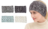 4-Pack: Women Confetti Winter Headband Wrap and  Ear Warmer