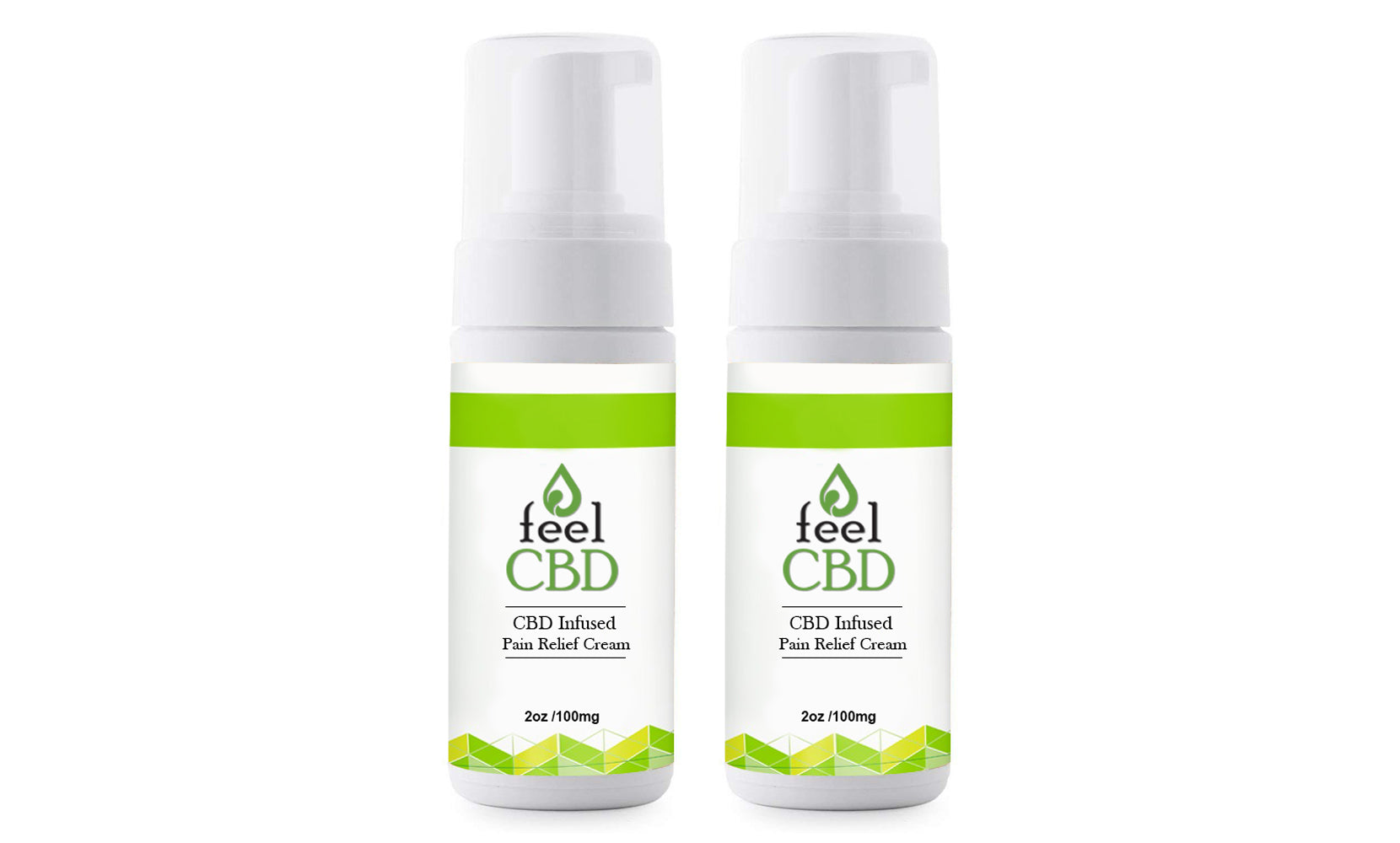 CBD Pain Relief Cream 100mg from feelCBD