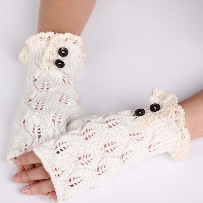 Elegant Lace Mittens - 3-Pairs for the price of 1