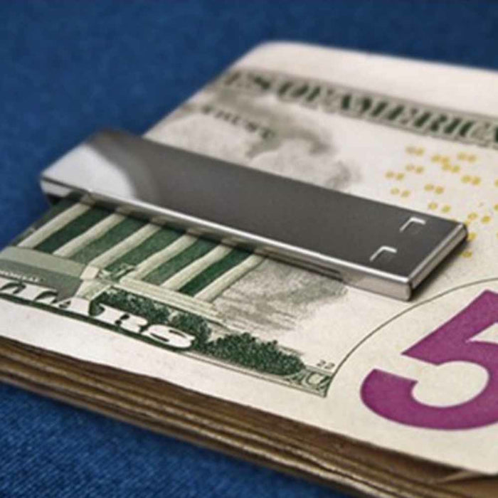 Money Clip with 8GB USB Flash Drive