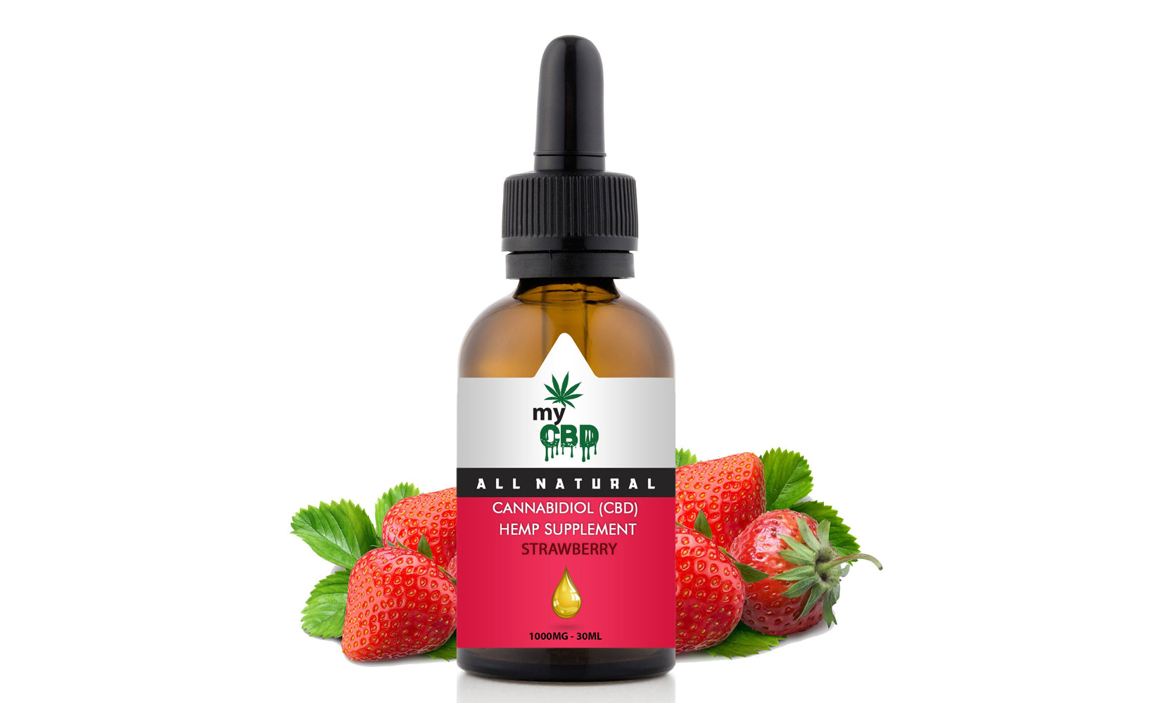 Flavoured Hempseed Oil Liquid Tincture from myCBD