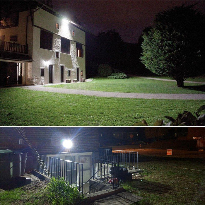 Ultra Bright Outdoor Solar Floodlights | 2400LM / 3600LM / 6000LM | Industrial Grade - Sharper Designs