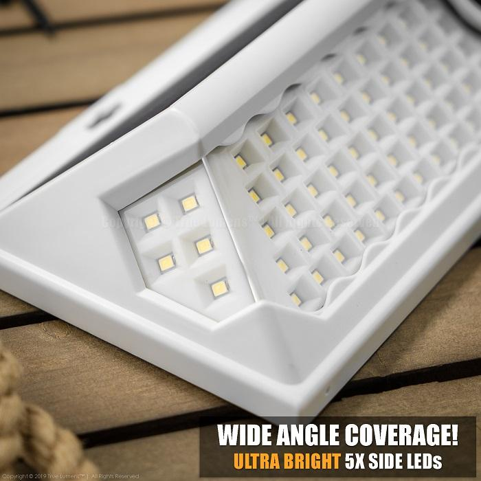 120LED Outdoor Wall Solar Light | Upgraded 2020 V3® | 120° Wide Angle Motion Sensor | SUPER BRIGHT! - True Lumens