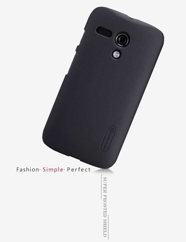 Nillkin Motorola Back Cover MOTO-G Black
