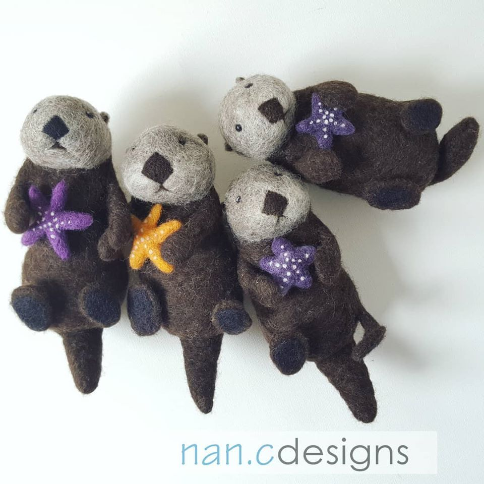 Sea Otter - Felt Kit