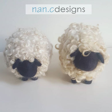 Curly Sheep - Felt Kit