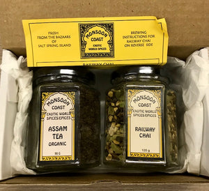 Monsoon Coast Chai Tea - Gift Box