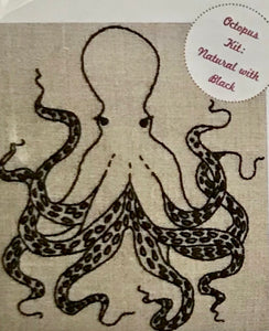 Octopus Embroidery Kit